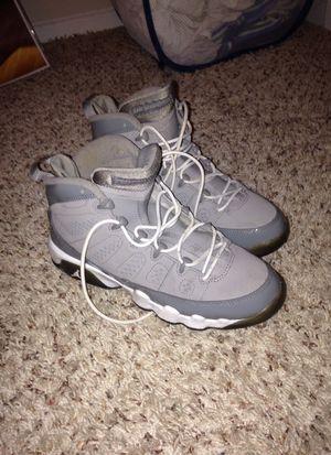 Jordan 9 Cool Grey size 6Y for Sale in Houston, TX