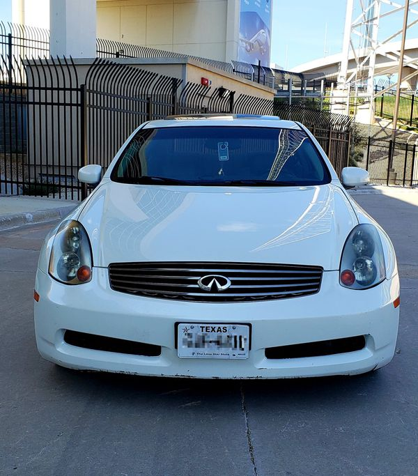 2005 INFINITY G35 For Sale In Dallas, TX