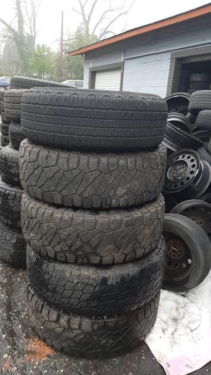 Photo New and Used tire for sale