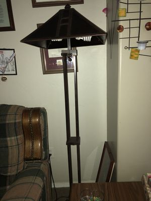 Floor and side table lamp $30 each $50 for both for Sale in Phoenix, AZ