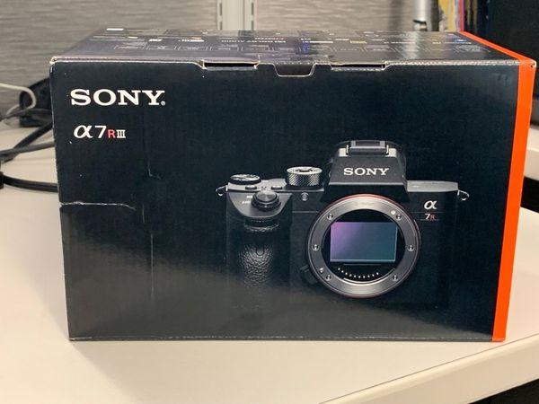Sony a7RIII Camera Body for Sale in San Francisco, CA - OfferUp