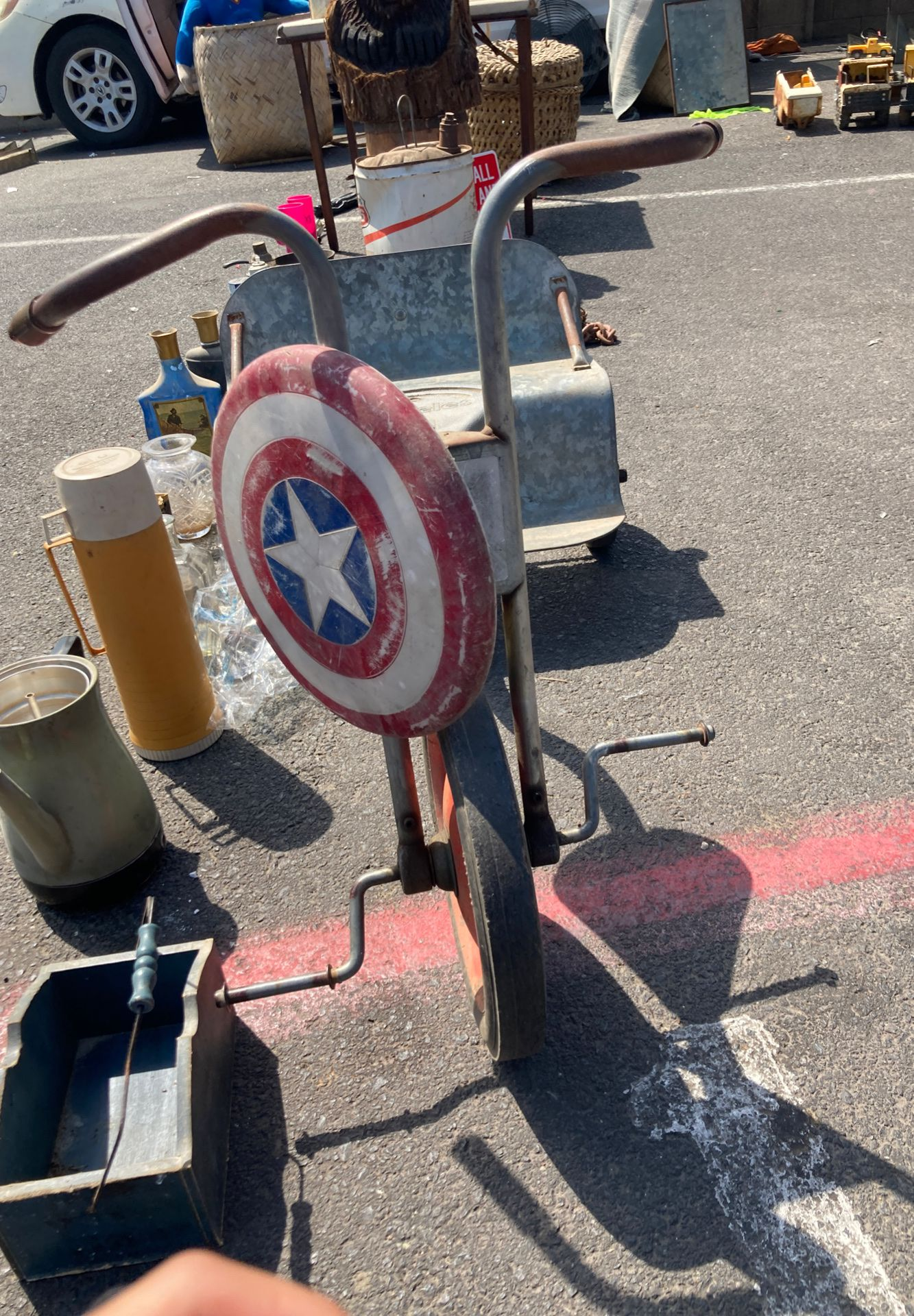 Ángeles tricycle