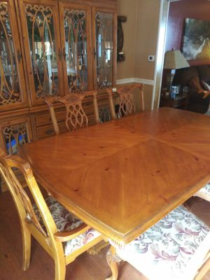 Excellent Solid Wood Dining Set For Sale In Neffsville PA