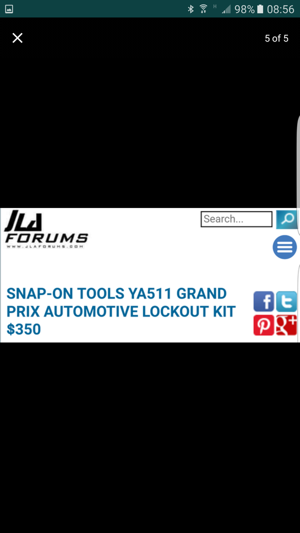 Snap-On Lockout Kit