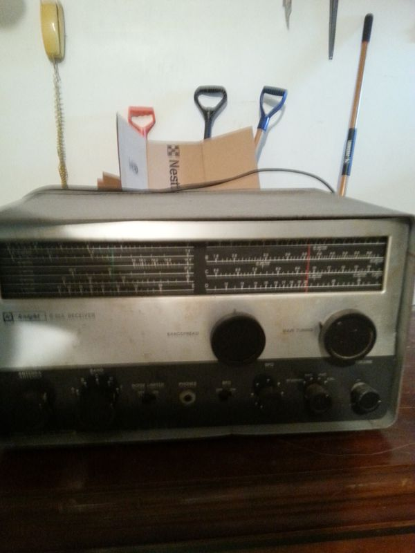 Knight kit vintage R55A shortwave and ham radio receiver for Sale in  Cleveland, OH - OfferUp