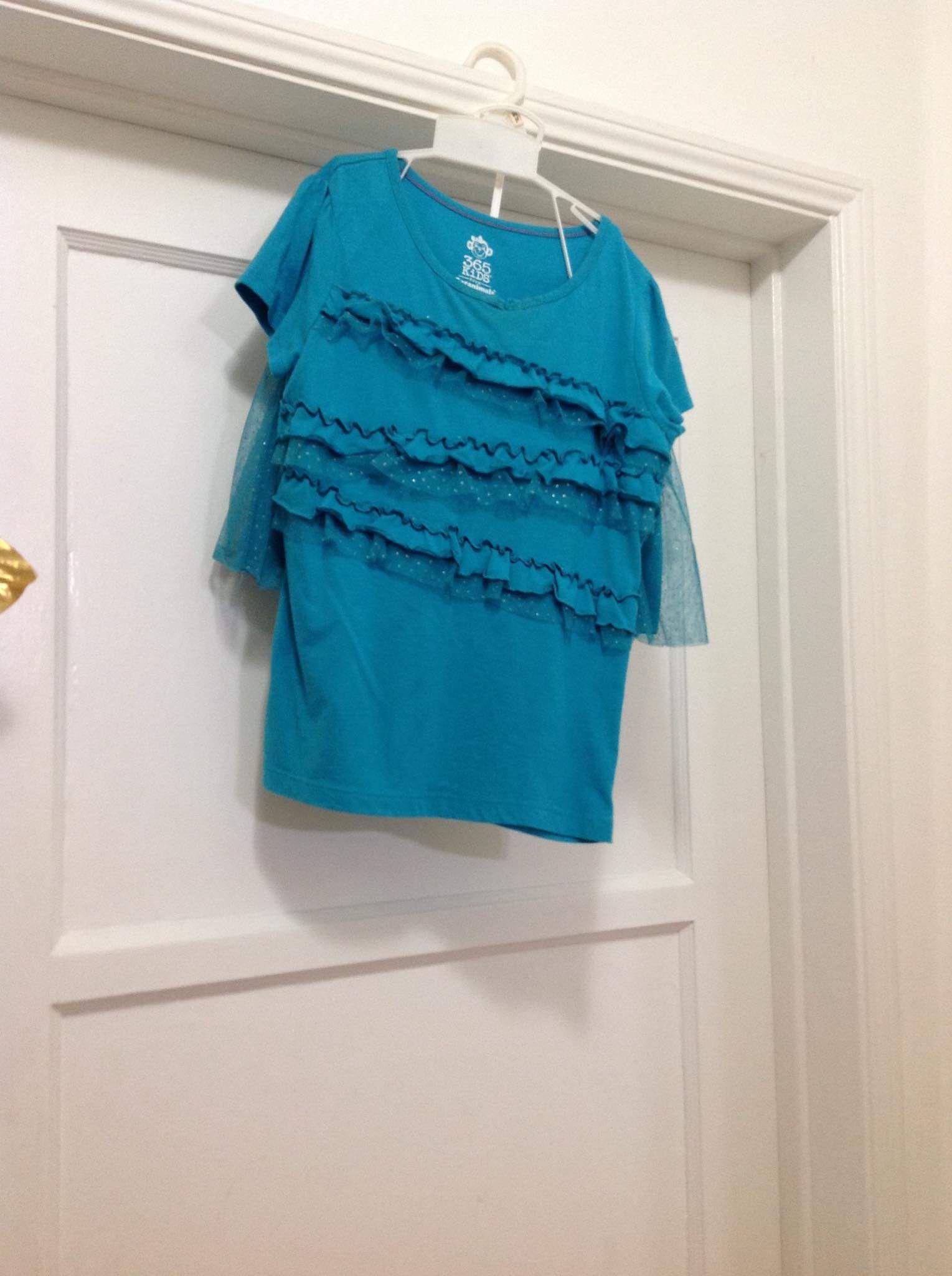 Girls set skirt t -shirt size ( 8 )