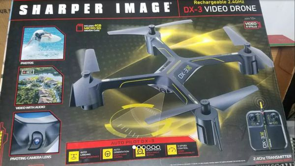 Sharper Image Dx 3 144 Large Drone With Camera For Sale In Us