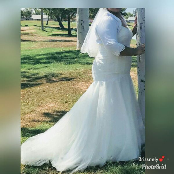 Wedding Dress 16W For Sale In Phoenix AZ