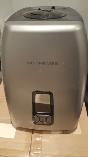 Air-o-Swiss model AOS 7144 Ultrasonic Humidifier Air Treatment System Hygrometer for Sale in Columbia, MD