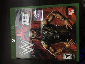 WWE 2K18 Xbox One for Sale in Orlando, FL