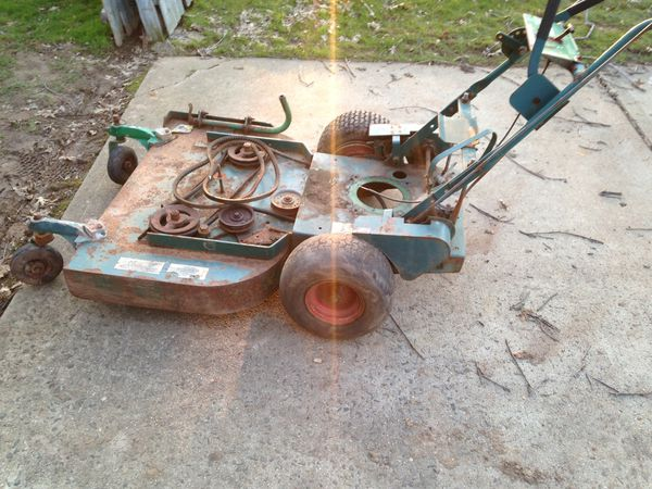 Ransomes Bobcat 36 inch Deck mower walk behind for Sale in Franklin  Township, NJ - OfferUp