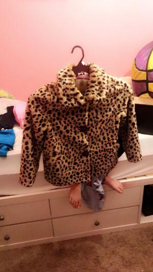 Little girls fur coat size XS for Sale in Ellicott City, MD
