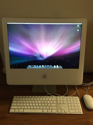 Photo Apple iMac G5 - 20""