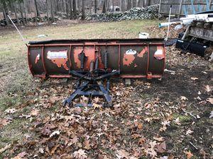 Photo 8' & 7.5' western snow plows