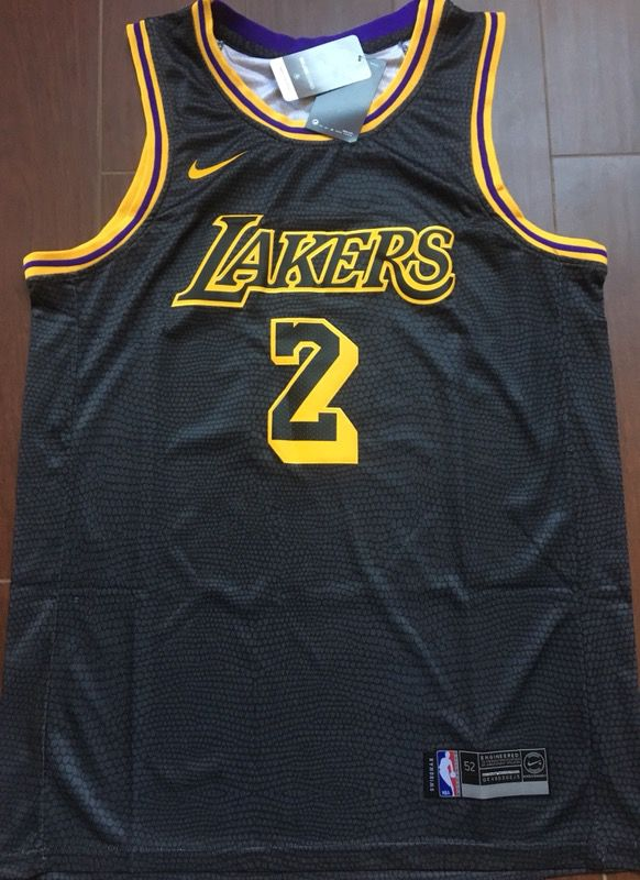 277bc2219 Lonzo Ball RARE Lakers city edition jersey small and Large for Sale ...
