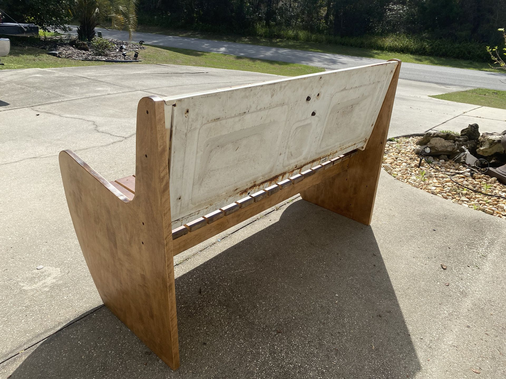Father's Day Gift! - Chevrolet Tailgate Bench