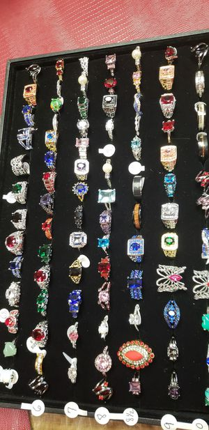 Assorted rings all sizes for Sale in Farmville, VA