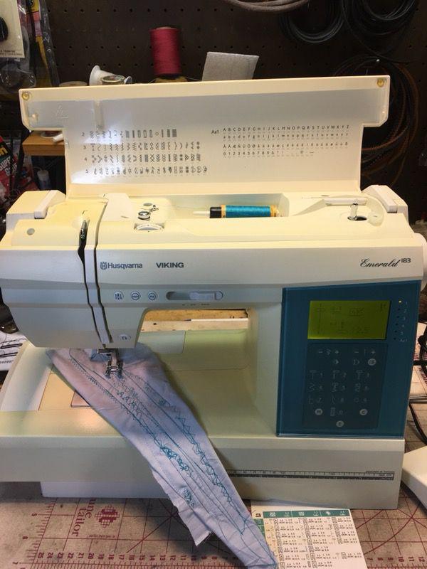 Viking Emerald 40 Sewing Machine For Sale In Mesa AZ OfferUp Simple Viking Emerald 183 Sewing Machine For Sale