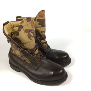 Photo Vintage RED WING Irish Setter Sport Men's 10.5 D Gore Tex Camo Hunting Boots