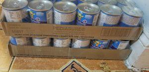 2 Pediasure chocolate cans 24pack for Sale in Manassas, VA