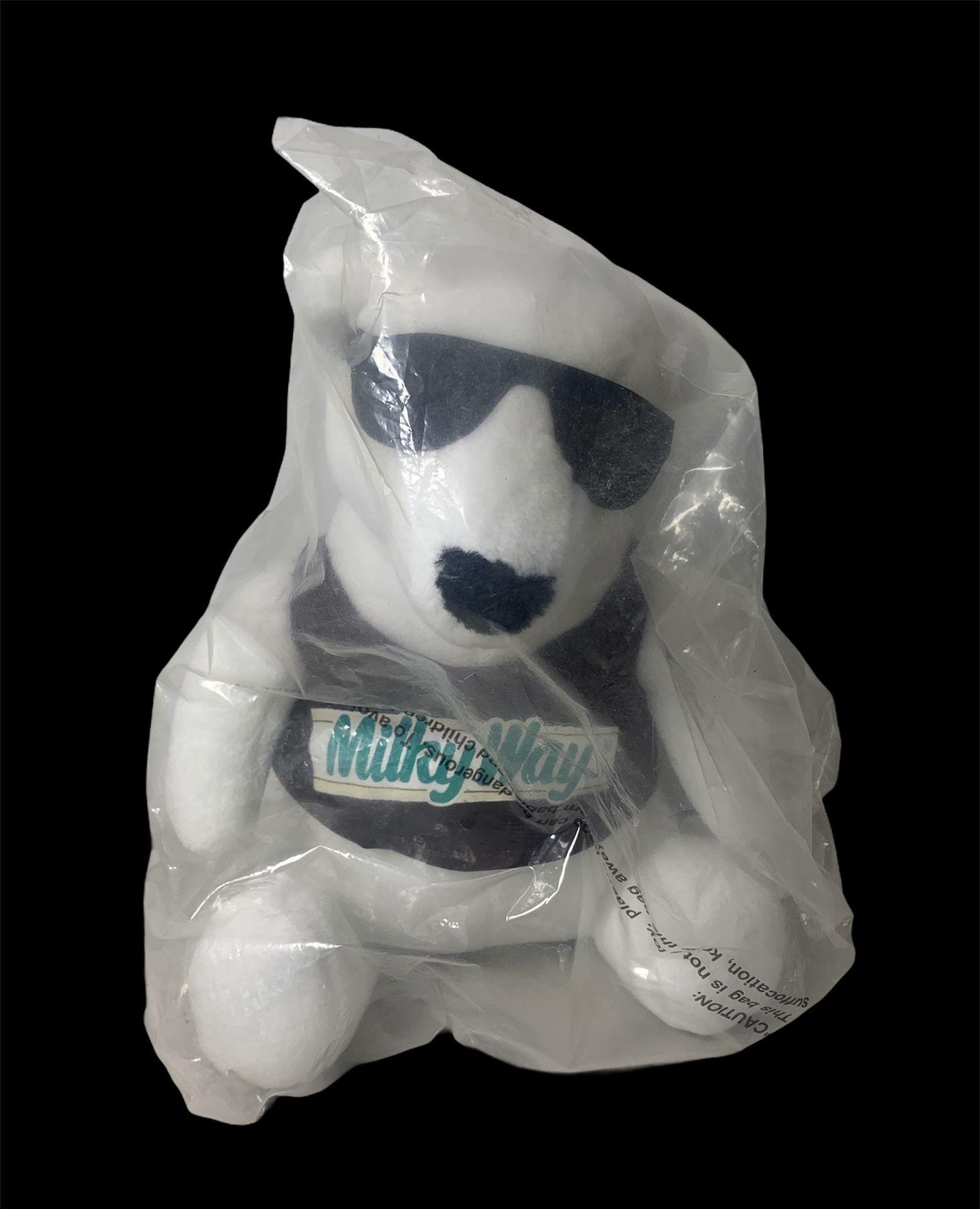 Milky Way Candy Bar Plush Polar Bear 1996 White With Sunglasses Mars 1996