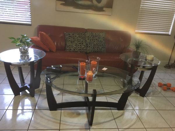 Coffee Table W End Tables Excellent Condition For Sale In Cooper - Cooper end table
