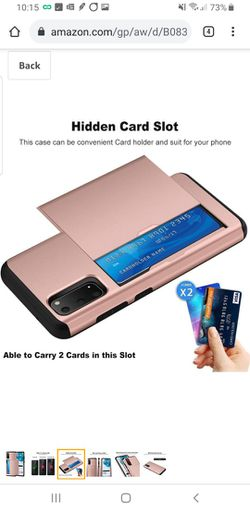 Samsung Galaxy S20 5G Case With Credit Card Holder Thumbnail