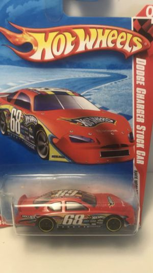 Photo Hot Wheels Thrill Racers-Race Course 2012 Dodge Charger Stock Car