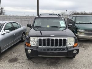 2009 Jeep Commander Limited with the hemi 200000 miles or best offer for Sale in Silver Spring, MD
