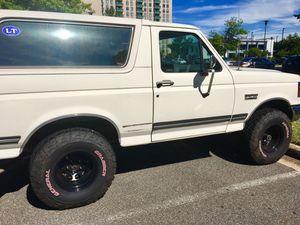 1991 Ford Bronco for Sale in Alexandria, VA