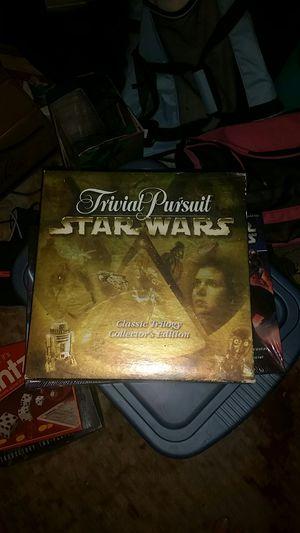STAR WARS TRIVIAL PURSUIT for Sale in Hyattsville, MD