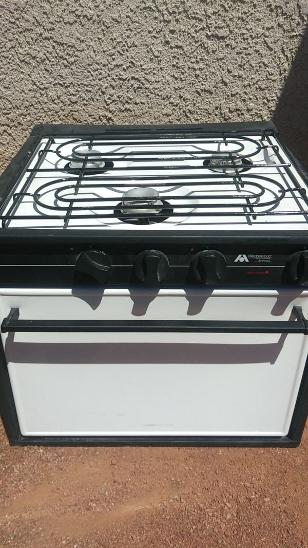 Rv Propane Stove >> Wedgewood By Atwood Rv Propane Stove Oven Hardly Used For Sale