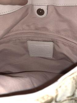 Pink Coach Bag Thumbnail
