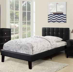 TWIN BED BLACK for Sale in Hialeah, FL