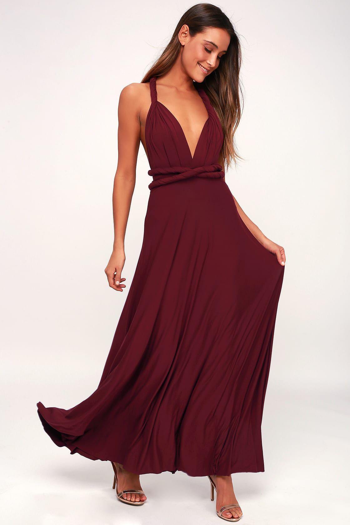 Brand New Wine Formal Dress!