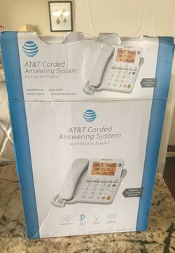 AT&T Corded Answering Phone System Thumbnail