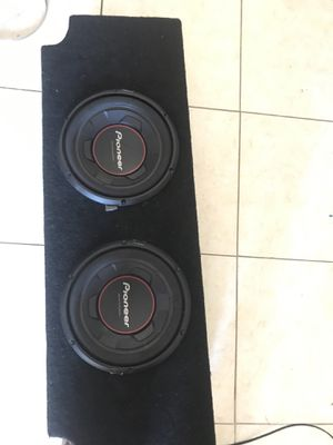 Pioneer subwoofer 2 10s for Sale in San Diego, CA