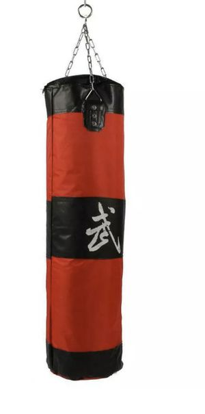Photo 35/90cm Punching Bag Boxing Exercise Punch Thai MMA Chains Kick Set (Empty)