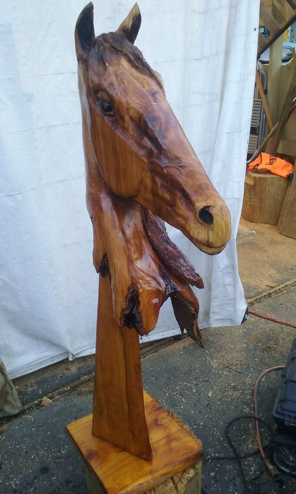 Chainsaw carving for sale in puyallup wa offerup