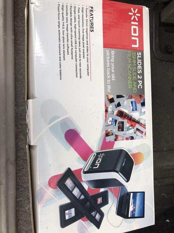 Ion 35mm Slide & Film Scanner for Sale in Lexington, KY - OfferUp