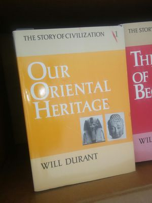Will Durant the story of civilization 11 volume set of collectible books for Sale in Alexandria, VA
