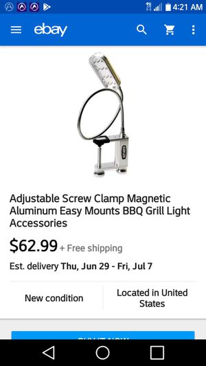 New 12 bulb L.E.D light magnetic w/ clamp for Sale in TN, US