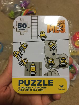 Minion Party Favors (Puzzles) for Sale in Alexandria, VA