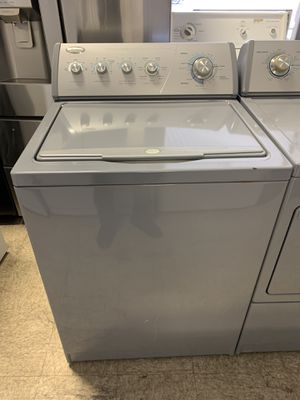 Whirlpool top load washer and dryer electric set with warranty for Sale in Woodbridge, VA