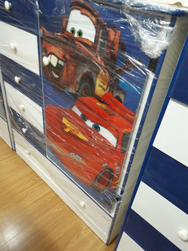 Cars themed babywardrobe