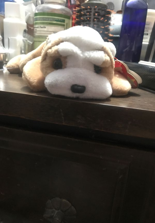 Retired first edition beanie baby Wrinkles The Bulldog. for Sale in ... b0e5d5d0ef76