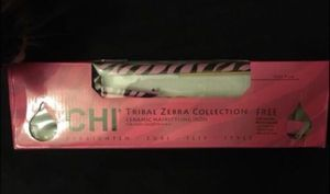 "Chi ceramic iron straightener zebra print 1"" for Sale in Chesterfield, MO"