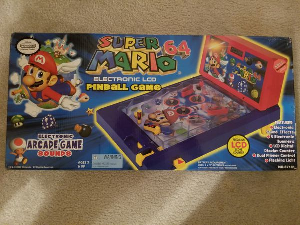 Super Mario 64 Pinball Game for Sale in Chester, VA - OfferUp