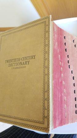 1938 Webster's Twentieth-Century Dictionary Unabridged Thumbnail