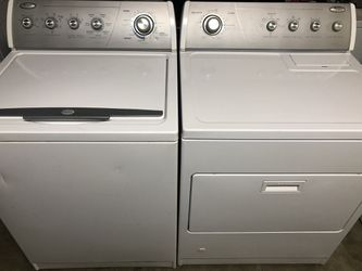 Whirlpool washer and gas dryer both work great Thumbnail